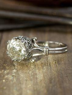 Sylvia - vintage   Unique Engagement Rings, Conflict-Free Diamonds & Gemstones   Dana Walden Bridal