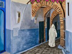 Galería de una afición. : Xauen (Marruecos)