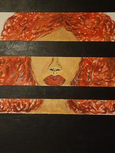 """Red hair"" Andreea Matusoiu"