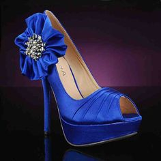 Blue Shoes For Wedding Day