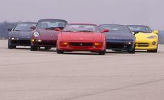 1995 Acura NSX-T vs. Dodge Viper RT/10, Ferrari F355, Lotus Esprit S4S, Porsche 911 Turbo