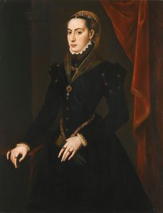 Circle of Anthonis Mor | PORTRAIT OF A LADY