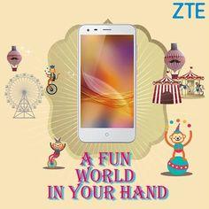 #ZTE #BladeS6 #Smartphone macht Spaß! #mobile #tech #android #lollipop #snapdragon 615 13 MP #Kamera #LTE #Gestensteuerung Zur #CeBIT kommt es auch nach #Deutschland