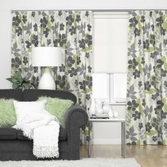 $150 per pair. Yet another option - would go beautifully with the charcoal couch! Charcoal Couch, Thermal Curtains, House Ideas, Shower, Prints, Home Decor, Homemade Home Decor, Rain Shower Heads, Decoration Home