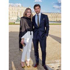 「Wednesday in Versailles - weekend in London  with my German @johanneshuebl」