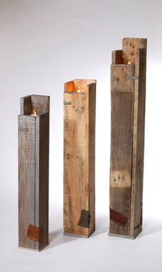 Kandelaar sloophout