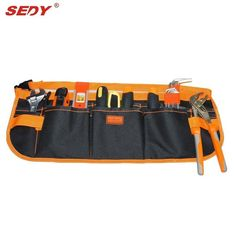 13 Pocket Multifunction Durable Pouch Construction tool bags Multifunction electrician tool pouch Carpenter Tool Belt kit Bag