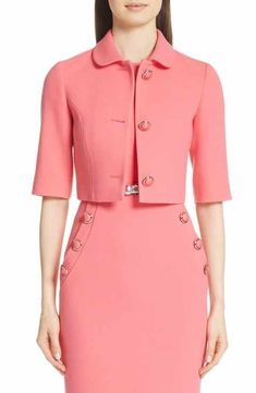 online shopping for Michael Kors Stretch Wool Crop Jacket from top store. See new offer for Michael Kors Stretch Wool Crop Jacket Coats For Women, Jackets For Women, Clothes For Women, Ladies Clothes, Classy Dress, Classy Outfits, Older Women Fashion, Womens Fashion, High Fashion