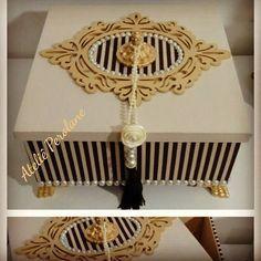 Caixa Organizadora MDF no Ateliê Perolane! #caixasforradascomtecido  #caixadelinho  #decoraçãopersonalizada #decoracaodeinteriores