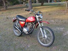 Honda XL100.