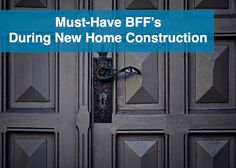 """Building our dream home was one of the most amazing experiences I've ever been a part of. In fact, truth be told, I loved it more than planning my own wedding. Do I love the house more than my husband? Of course not. But I definitely enjoyed choosing light fixtures, cabinet hardware, and trim moulding … Continue reading """"Must-Have BFF's During New Home Construction"""""""