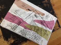 Year8 architecture mono printing. Can you guess which part of the academy it is?! Fauvism Art, Design Department, Printing, Architecture, Arquitetura, Architecture Design