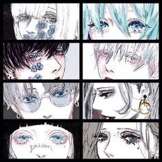 54 Ideas Digital Art Eyes Tutorials Character Design For 2019 Manga Eyes, Anime Eyes, Manga Anime, Anime Art, Character Art, Character Design, Foto Top, Male Figure Drawing, Gothic Fantasy Art