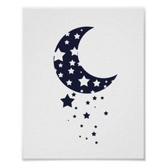Star Silhouette, Fairy Silhouette, Silhouette Images, Moon Fairy, Star Illustration, Moon Drawing, Star Painting, Marquesan Tattoos, Sun Moon Stars