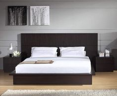 Contemporary Bedroom Decor modern cola storage wall bed with light bridge and taylored