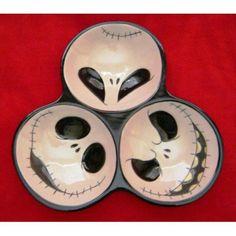 Nightmare Before Christmas serving dish & Nightmare Before Christmas Dinnerware Set | Dishes Tim burton and ...