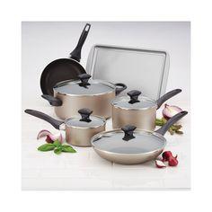 Farberware 15 Piece Cookware Set - Champagne #Farberware