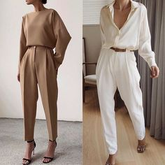 Minimal Fashion, Work Fashion, Fashion Looks, Fashion Design, Classy Outfits, Chic Outfits, Fashion Outfits, Mode Chic, Mode Style