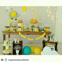 Nosso  Chá de Elefantinho foi compartilhado pelo Inspirando sua Festa!!! Muito felizes !!! Obrigada pelo Carinho  #Repost @inspirandosuafesta with @repostapp ・・・ Decoração mais fofa  Vi no ig @amaislindafesta -  Que coisa mais fofa esse chá de bebê♡♡♡ Decor @atelie.eraoquefaltava -  Olha ela aí inteirinha! Paxonada estou  #chadebebemenino #chadebebelindo #chaelefantinho #chadebebeelefantinho #babyboy #babyshowerboy #babyshower - #regrann  #amaislindafesta #festalinda #decora...