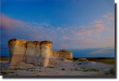 Castle Rock & Monument Rock land formations ~ Top 10 things to with kids in Kansas