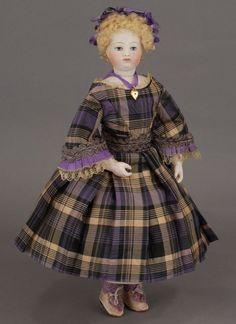 French Fashion Doll, 1860's —  (564×775)