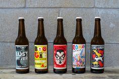 Bellwood beer labels by Doublenaut Design Studio Branding, Brand Identity, Nano Brewery, Craft Beer Brands, Beer Images, Session Ale, Beer Label Design, Bottle Packaging, Design Studio
