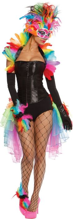 Adult Rainbow Bird Costume - Party City