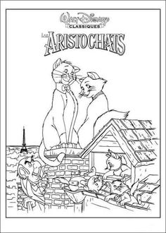 the aristocats coloring page hellokids fantastic collection of the aristocats coloring pages has lots of coloring pages to print out or color online - Aristocats Kittens Coloring Pages