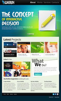 Werdi Design Joomla Templates by Mercury