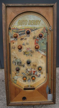 Flipper Pinball, Pinball Games, Antique Coins, Old Coins, Vintage Games, Vintage Toys, Victorian Toys, Board Games, Game Boards