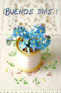 Coco Rose Diaries: New Beginnings.and Forget-Me-Nots. Little Flowers, My Flower, Blue Flowers, Flower Power, Beautiful Flowers, Coco Rose Diaries, Buenos Dias Quotes, Good Day Sunshine, Good Morning Good Night