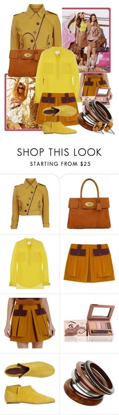 """""""Untitled #26"""" by irmica ❤ liked on Polyvore featuring Mulberry, Bois, Matthew Williamson, 3.1 Phillip Lim, Proenza Schouler, Benefit, Toast, Wallis and Vivienne Westwood"""