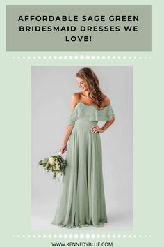 We LOVE Sage bridesmaid dresses right now. They are so in, trendy, and flattering at the moment. At Kennedy Blue, we pride ourselves on bridesmaid dresses that are both stylish and affordable. You can shop Sage Green bridesmaid dresses in over 44 different styles. You are certain to find one that fits your bridesmaid styles and perfectly matches your wedding party. Kennedy Blue Blogs | #sagebridesmaiddresses | #affordablebridesmaiddresses