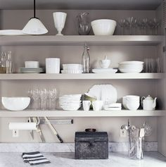 See more images from 7 reasons why you don't need kitchen cabinets on domino.com