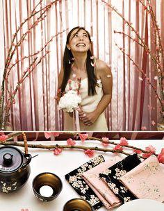 Đám cưới với hoa anh đào rực rỡ: Tin, Video clip, Hình ảnh Ngôi Sao