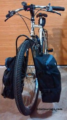 Picture of Trek Pannier II Pack for bicycle commuting