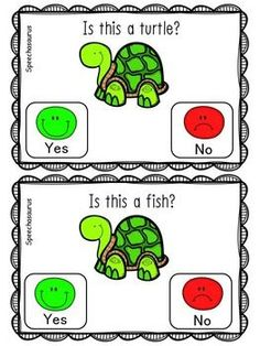 Target YES/NO questions with this adorable spring themed freebie! Both options include a yes/no visual on each page. Preschool Speech Therapy, Speech Language Pathology, Speech And Language, Autism Activities, Language Activities, Cognitive Activities, Interactive Activities, Receptive Language, Speech Room