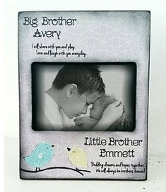 A personal favorite from my Etsy shop https://www.etsy.com/listing/266958360/big-brother-grey-little-brother-kids