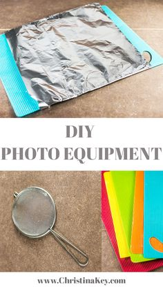 DIY photo equipment - Create amazing photo effects with my LOW BUDGET photo tips