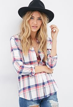 Classic Flannel Plaid Shirt | FOREVER21 - 2000136744 $17.90.  Got this shirt yesterday it is wonderful.  Soft & comfy, nice colors.  Runs a little big.