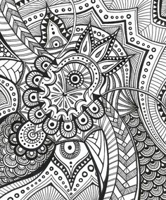 i think this is a zentangle.