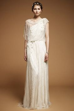 Grecian Princess Wedding Gown feel free to view the full collection #wedding #princess #pinterest