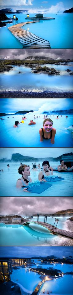 Whenever anyone mentions anything about a blue lagoon, all we can think about is that creepy Randal Kleiser film from the 80s–you know, the one with a young Brooke Shields. But, this blue lagoon on the shore of Iceland looks more like something out of a sci-fi flick, even though it's all very real.  The Blue Lagoon is Iceland's most popular attraction, likely due to the fact that the water maintains a perfect 102 degrees. The water is fed by Svartsengi, the geothermal power plant that's ...
