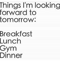 Always things to look forward to