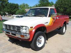 1981 Toyota Pickup SR5 4X4. Nice paint job and rims.