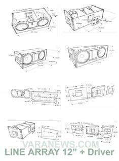Skema Box Line Array 12 inch Tweeter #audio #audio #en #casa 12 Inch Speaker Box, Speaker Box Diy, Diy Bluetooth Speaker, Pro Audio Speakers, Speaker Box Design, Speaker Plans, Diy Speakers, Hifi Audio, 12 Inch Subwoofer Box