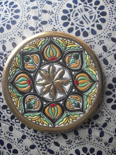 Spanish Hand Painted Decorative Plate by augiesvintagefinds, $10.00