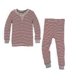Family Jammies | Candy Cane Striped Pajamas | Burt's Bees Baby®