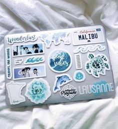 See more of vscovibess's content on VSCO. Mac Stickers, Cute Laptop Stickers, Macbook Stickers, Mobile Stickers, Preppy Stickers, Macbook Decal, Coque Macbook, Macbook Case, Laptop Case