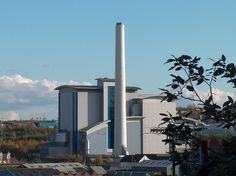 Sheffield Incinerator from Burngreave